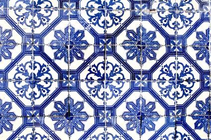 Carrelage Ancien En Ceramique Et Faience